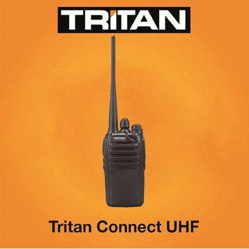 Picture of Tritan Connect Professional UHF  Walkie-Talkie Two Way radio  (New)
