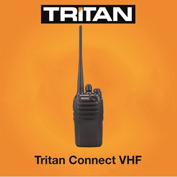 Picture of Tritan Connect Professional VHF Walkie-Talkie Two Way radio  (New)