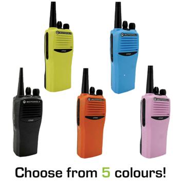 Picture of Motorola CP040 UHF Walkie-Talkie Two Way Radio (Refurbished)