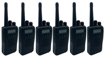 Picture of Kenwood TK3140 UHF Walkie-Talkie Two Way Radio x 6 (Refurbished As New)