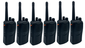 Picture of Kenwood TK3160 UHF Walkie-Talkie Two Way Radio x 6 (Refurbished As New)