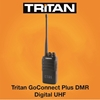 Picture of Tritan GoConnect Plus DMR Digital UHF Walkie Talkie Two Way Radio (New) - Education Pricing